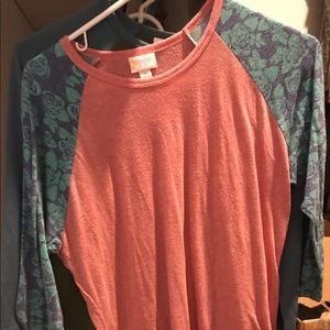 Bundle of Lularoe Randy baseball T's